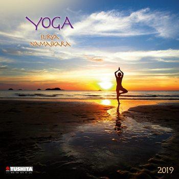 Kalendář 2021 Jóga - Surya Namaskara