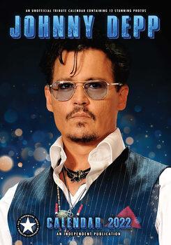 Kalendár 2022 Johnny Depp