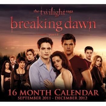 Kalendár 2021 Kalendár 2012 - TWILIGHT BREAKING DAWN