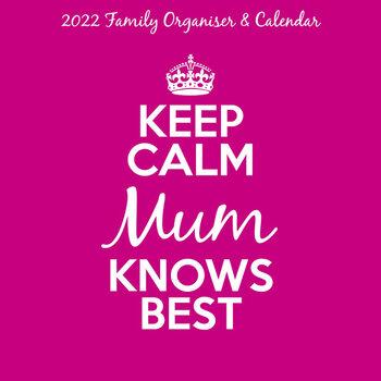 Kalendár 2022 Keep Calm