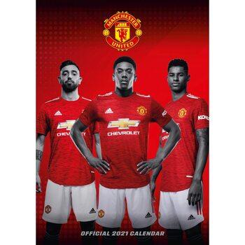 Kalendář 2021 Manchester United