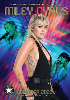 Kalendár 2022 Miley Cyrus