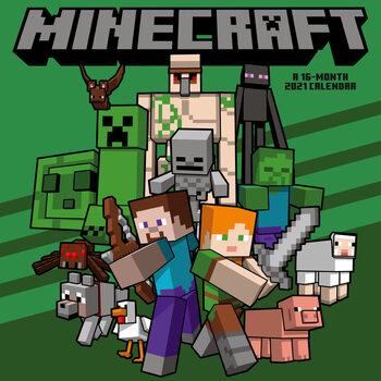 Kalendár 2021 Minecraft
