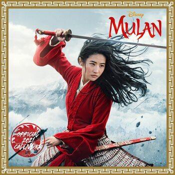 Kalendář 2021 Mulan