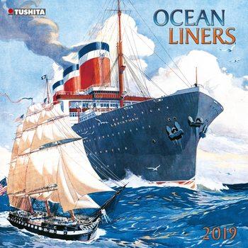 Kalendár 2021 Ocean liners