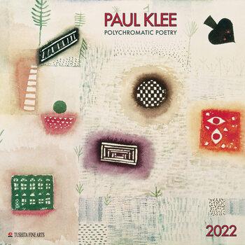 Kalendár 2022 Paul Klee - Polychromatic Poetry