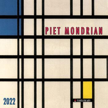 Kalendár 2022 Piet Mondrian