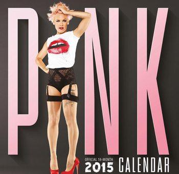 Kalendář 2021 Pink - P!NK