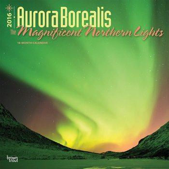 Kalendář 2021 Polární záře - Aurora Borealis