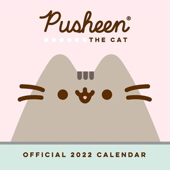 Kalendár 2022 Pusheen