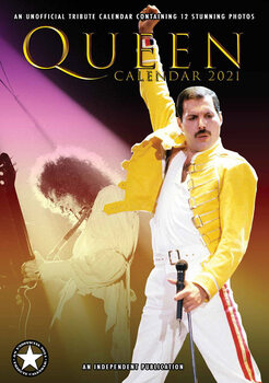 Kalendár 2021 Queen