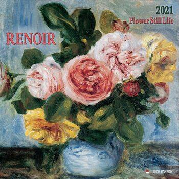 Kalendár 2021 Renoir - Flower Still Life