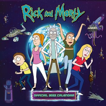 Kalendár 2022 Rick & Morty