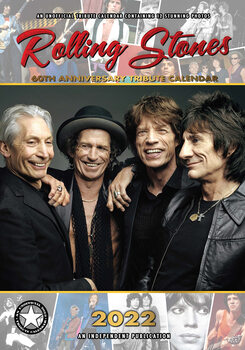 Kalendár 2022 Rolling Stones