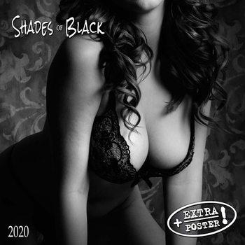 Kalendár 2021 Shades of Black