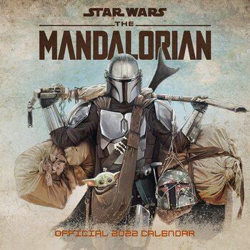 Kalendár 2022 Star Wars: The Mandalorian