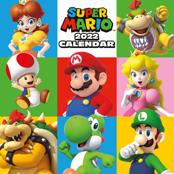 Kalendár 2022 Super Mario