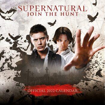 Kalendár 2022 Supernatural