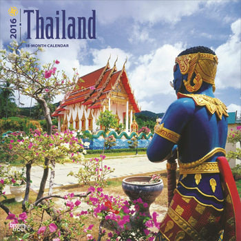 Kalendář 2021 Thajsko