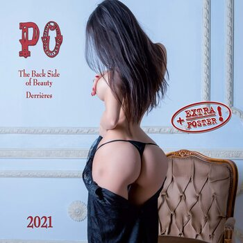 Kalendár 2021 The Back Side of Beauty - PO!