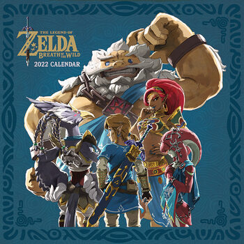 Kalendár 2022 The Legend of Zelda