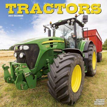 Kalendár 2022 Traktory