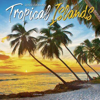 Kalendár 2022 Tropické ostrovy