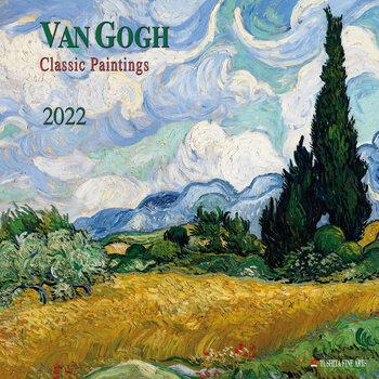 Kalendár 2022 Vincent van Gogh - Classic Works