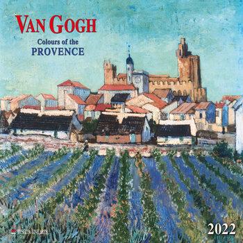 Kalendár 2022 Vincent van Gogh - Colors of the Provence