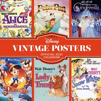 Kalendár 2021 Vintage Posters
