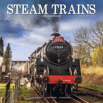 Kalendár 2022 Vlaky