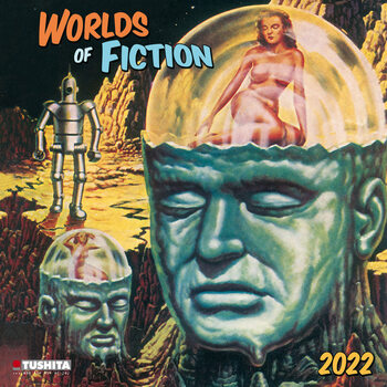 Kalendár 2022 Worlds of Fiction