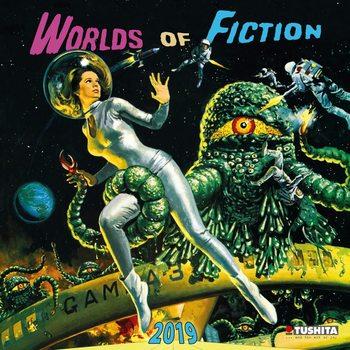Kalendár 2021 Worlds of Fiction