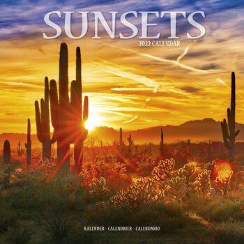 Kalendár 2022 Západy Slnka