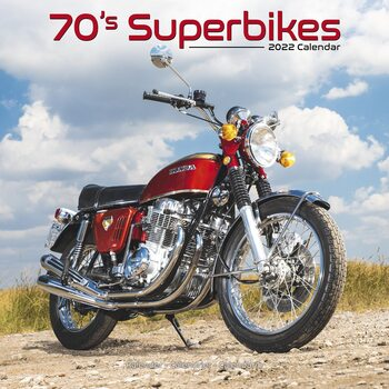 Kalendář 2022 70'S Superbikes