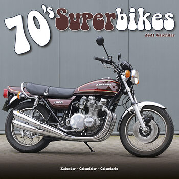 Kalendář 2021 70'S Superbikes