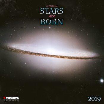 Kalendár 2020 A Million Stars are Born