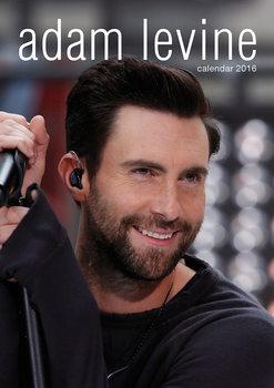 Kalendář 2017 Adam Levine (Maroon 5)