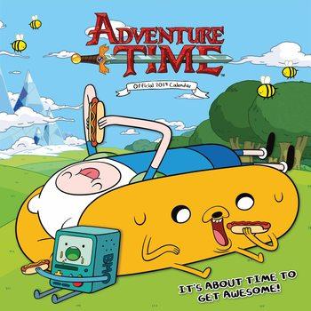 Kalendár 2019  Adventure Time