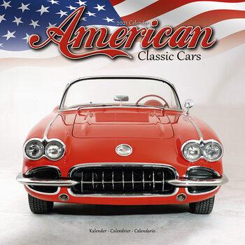 Kalendář 2021 American Classic Cars