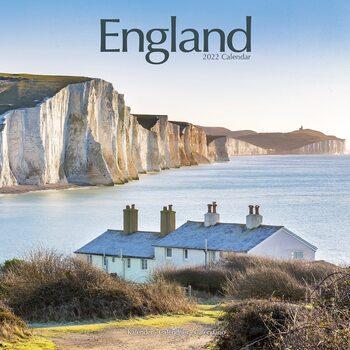 Kalendář 2022 Anglie