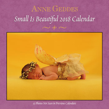Kalendár 2018 Anne Geddes - Small is Beautiful