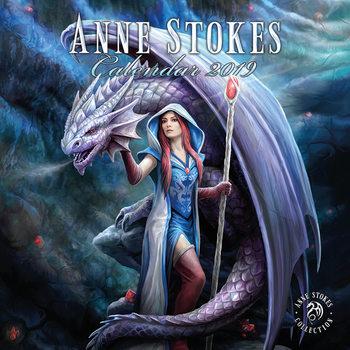 Kalendář 2019  Anne Stokes