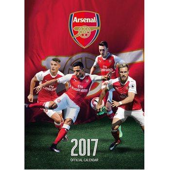 Kalendár 2017 Arsenal