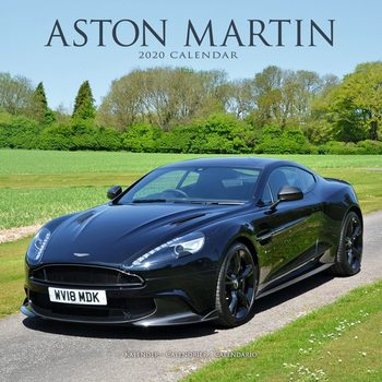 Kalendář 2020  Aston Martin