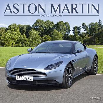 Kalendář 2021 Aston Martin