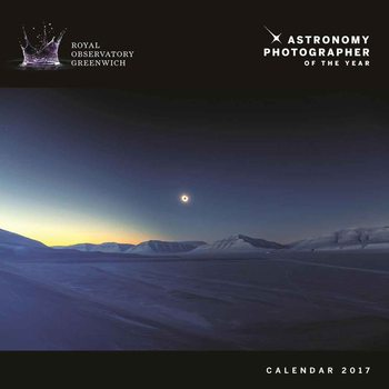 Kalendár 2017 Astronomy - Photographer of the Year