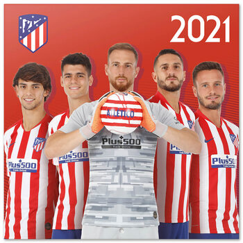Kalendář 2021 Atletico Madrid