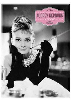 Kalendář 2017 Audrey Hepburn A3