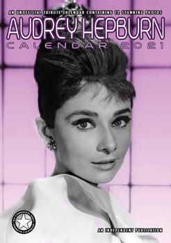 Kalendář 2021 Audrey Hepburn